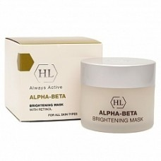 Осветляющая маска / Holy Land Alpha-Beta & Retinol Brightening Mask 50 мл, 250 мл