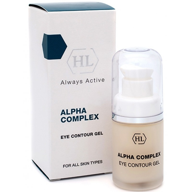 Гель для век / Holy Land Alpha Complex Eye Contour Gel, 20 мл