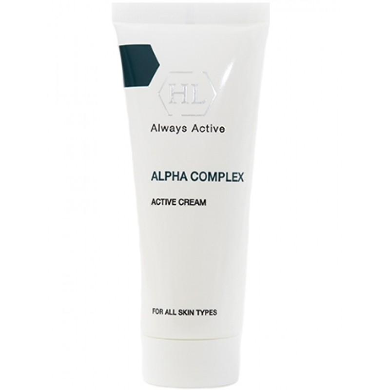 Активный крем для выравнивания поверхности кожи / Holy Land Alpha Complex Active Cream 50 мл, 250 мл