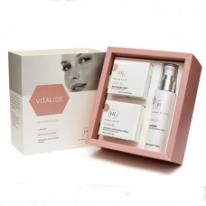 Набор для увлажнения кожи / Holy Land Vitalise Kit (Cleanser, Moisturizing Cream, Overnight Moisturizer) 3 Units