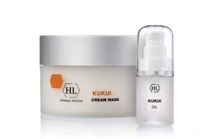Kukui - линия предназначена для сухой/жирной кожи с нарушением баланса.