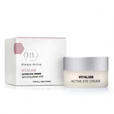 Активный крем под глаза / Holy Land Vitalise Active Eye Cream with Hyaluronic Acid 15 мл