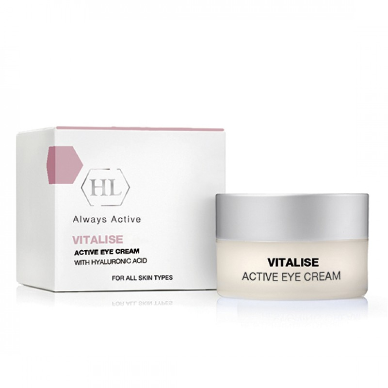 Активный крем под глаза / Holy Land Vitalise Active Eye Cream with Hyaluronic Acid 15 мл