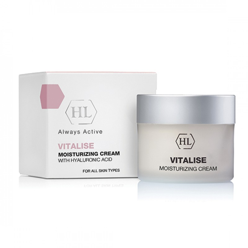 Дневной увлажняющий крем / Holy Land Vitalise Moisturizing Cream with Hyaluronic Acid 50 мл, 250 мл