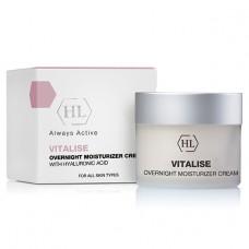 Ночной увлажняющий крем / Holy Land Vitalise Overnight Moisturizer Cream with Hyaluronic Acid 50 мл, 250 мл
