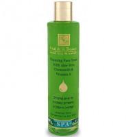 Очищающий тоник для лица с алоэ вера, ромашкой и витамином A 250 мл / Health And Beauty Cleansing Face Tonic with Aloe Vera Chamomile & Vitamin A 250ml