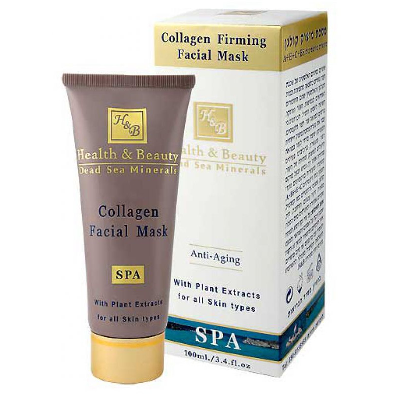 Коллагеновая укрепляющая маска для лица 100 мл / Health And Beauty Collagen Facial Mask 100 ml