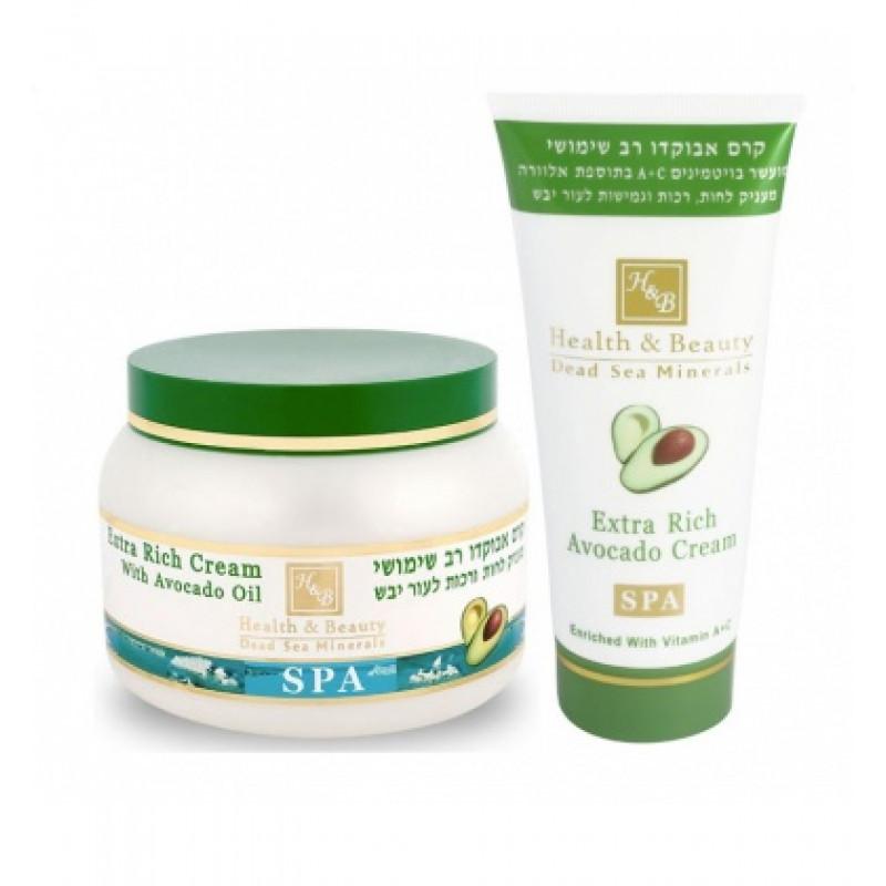 Многофункциональный крем для тела с Авокадо 100 мл / Health and Beauty Extra Rich Avocado Cream 100 ml