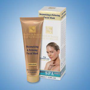 Увлажняющая и расслабляющая маска для лица с гиалуроновой кислотой 100 мл / Health And Beauty Moisturizing & Relaxing Facial Mask 100 ml