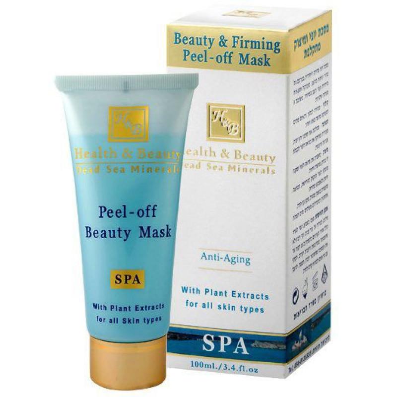 Маска-пленка для придания упругости коже лица 100 мл / Health And Beauty Peel-off Beauty Mask 100 ml