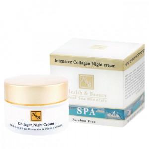Крем для лица Коллагеновый НОЧНОЙ 50 мл / Health & Beauty Intensive Collagen Night cream 50 ml