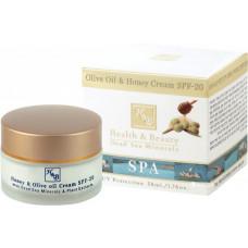 Крем с медом и оливковым маслом SPF20 50 мл / Health & Beauty Olive Oil & Honey Cream 50ml