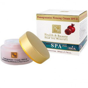 Крем на основе граната для повышения упругости кожи с фотозащитным фактором SPF-15 50 мл / Health & Beauty Pomegranates Firming Cream SPF-15 50 ml