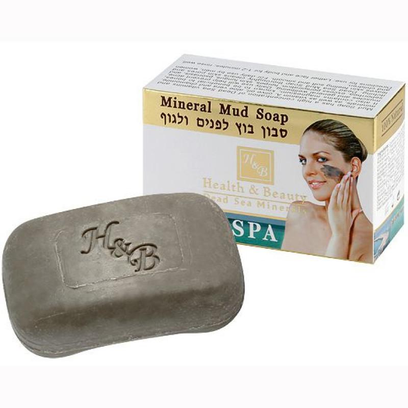 Грязевое мыло для лица и тела 125 гр / Health & Beauty Soap 125 gr