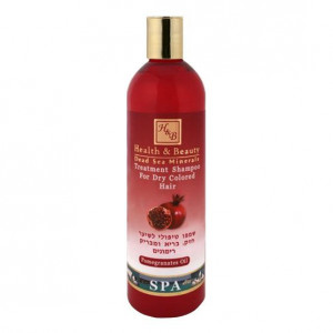 Шампунь укрепляющий для здоровья и блеска волос обогащенный гранатовым экстрактом 400 мл