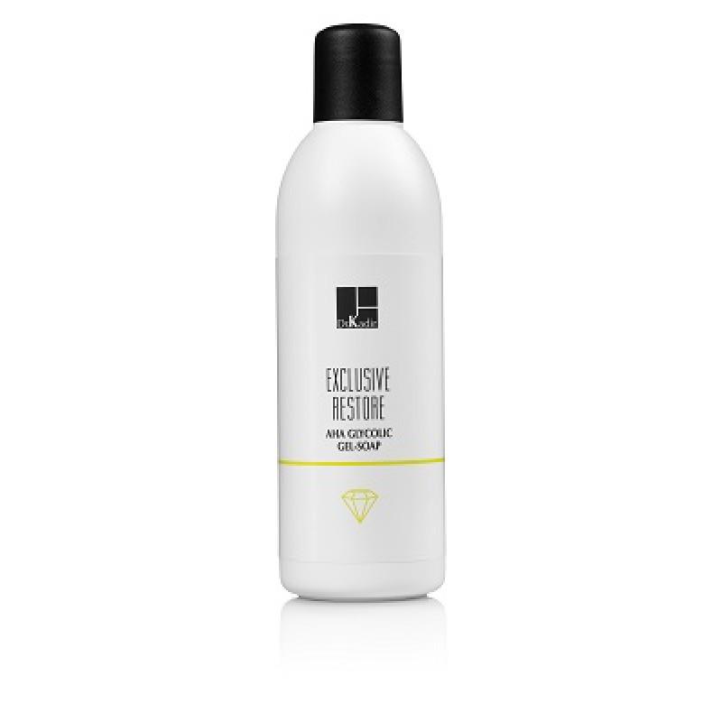 Гликолевое гель мыло с альфа-гидроксильной кислотой Доктор Кадир, 250 мл / Glycolic AHA Gel Soap Dr. Kadir, 250 ml