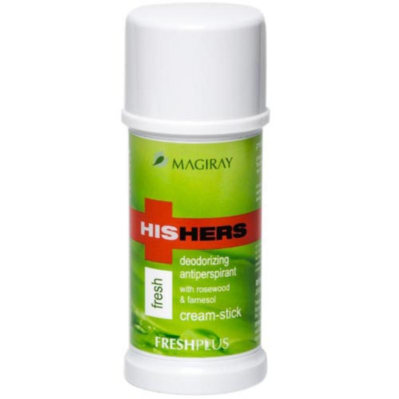 Крем-стик дезодорант 50 мл / MAGIRAY HISHERS FRESH plus 50 ml