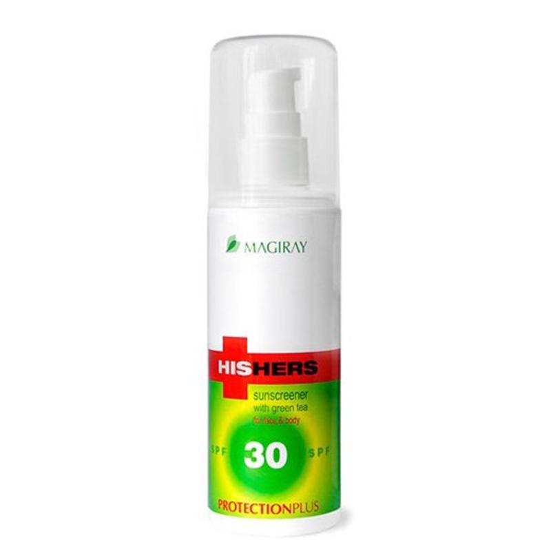 Солнцезащитная эмульсия SPF 30 125 мл. / MAGIRAY HISHERS PROTECTION plus SPF-30 125 ml.