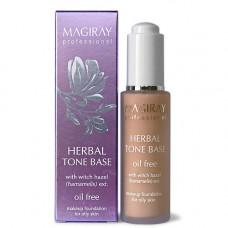 Растительная тональная база для жирной кожи 30мл / MAGIRAY RESTORE HERBAL TONE BASE (for oily problemskin) 30 ml