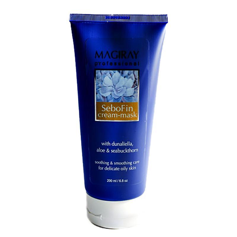 Маска для устранения раздражения кожи 200 мл. / Magiray SeboFin Cream-Mask 200 ml.