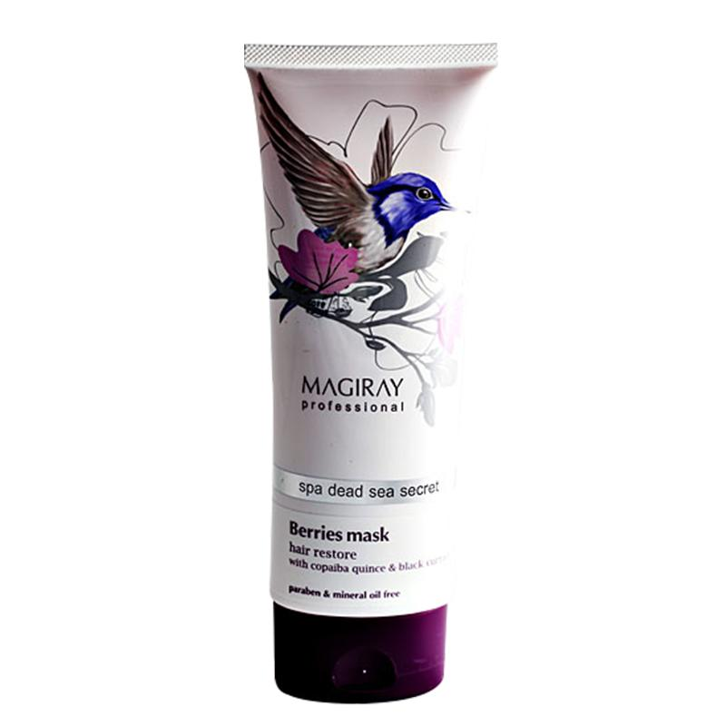 Ягодная маска для восстановления волос 250 мл. / Magiray SPA Berries Hair Restore Mask 250 ml.