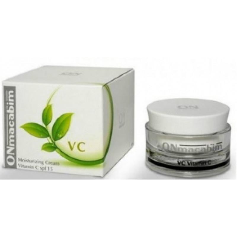 Увлажняющий крем - лифтинг с вититамином С 50 мл. 250 мл. / ONmacabim Lifting Cream Vitamin C