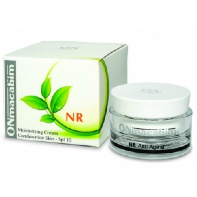 Увлажняющий крем для сухой кожи SPF-15 50 мл. 250 мл. / ONmacabim Moisturizing cream dry skin SPF-15 50 ml. 250 ml.