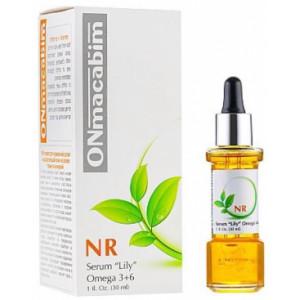 Концентрированная питательная сыворотка «Лили»   30 мл. 100 мл. / ONmacabim Serum «Lily» Omega 3+6+9 30 ml. 100 ml