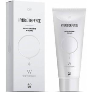 Защитный гибрид-крем SPF-50 без тонального эффекта 80 мл / ONMACABIM System Plus Hybrid Defense SPF 50 White 80 ml
