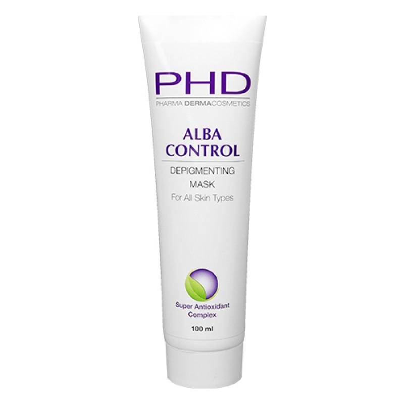 Лечебная отбеливающая маска 100 мл. 250 мл. / PHD Alba Control Depigmenting Mask 100 ml. 250 ml.