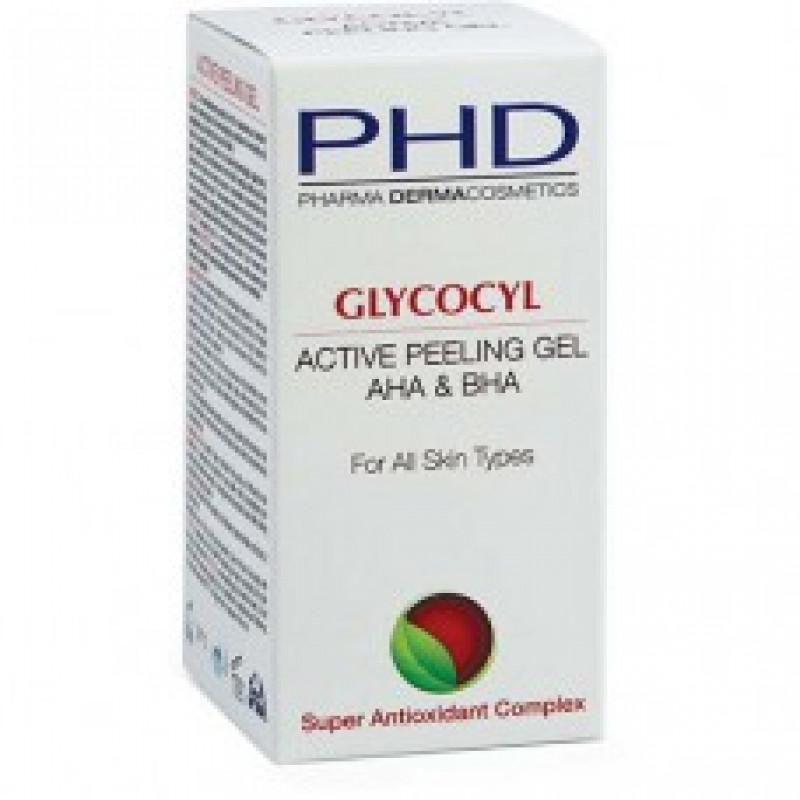 Ночной гель-пилинг 50 мл. / PHD Glycocyl Active Peeling Gel 50 ml.