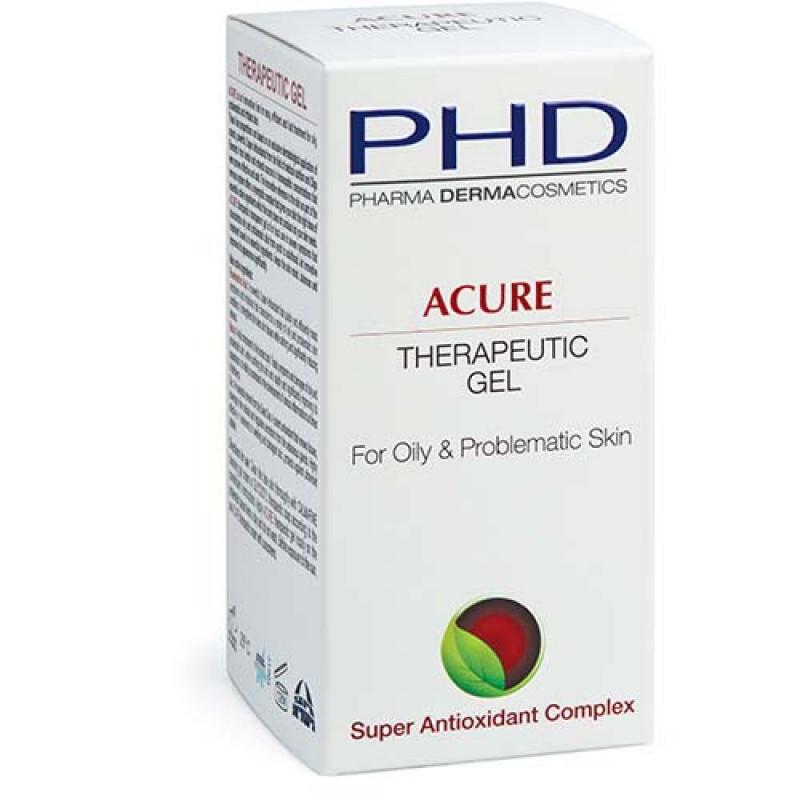 Лечебный гель для жирной и проблемной кожи 50 мл / PHD Acure Therapeutic Gel 50 ml