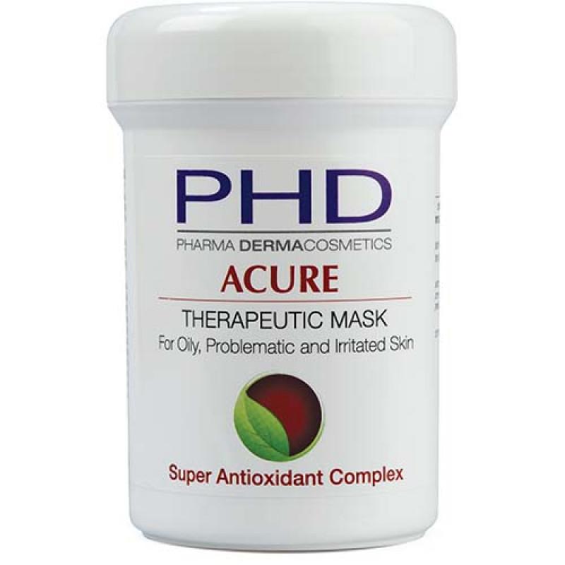 Лечебная маска для жирной, раздраженной и проблемной кожи 100 мл. 250 мл. / PHD Acure Therapeutic Mask 100 ml. 250 ml.