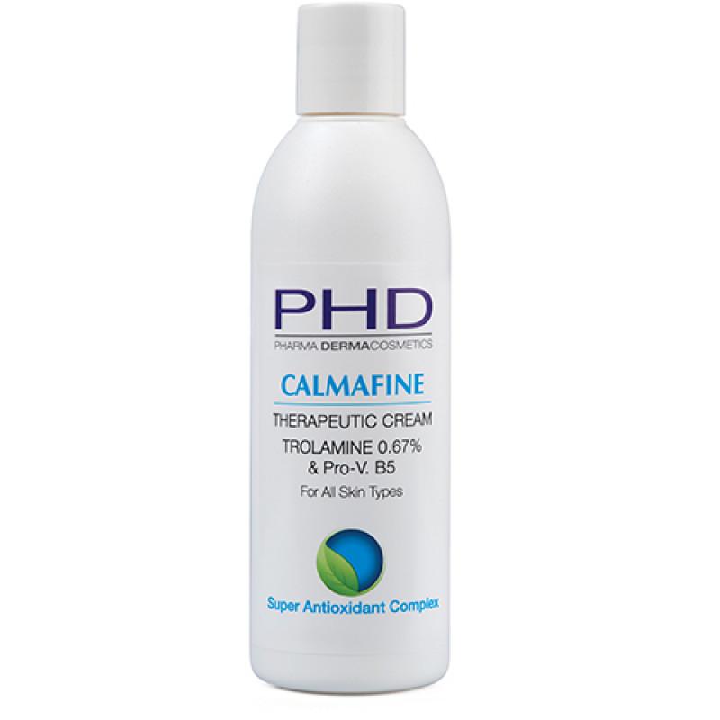 Успокаивающий лечебный крем от ожогов 100 мл. 250 мл. / PHD Calmafine Therapeutic Cream 100 ml. 250 ml.