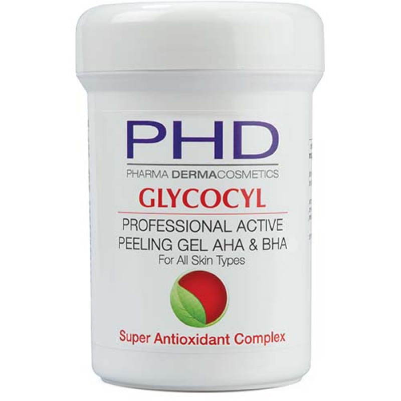 Профессиональный гель-пилинг 250 мл. / PHD Glycocyl Professional Active Peeling Gel 250 ml.