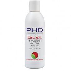 Лечебный лосьон-пилинг 250 мл. 1000 мл. / PHD Glycocyl Therapeutic Solution 250 ml. 1000 ml.