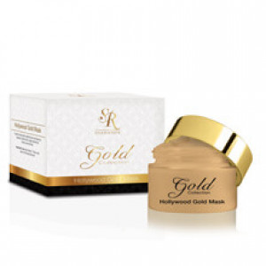 Золотая маска Голливуд 100 мл, 250 мл / SR COSMETICS Hollywood Gold Mask 24K 100 ml, 250 ml