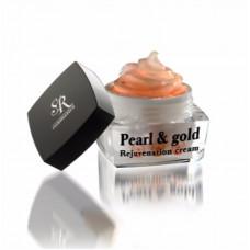 Крем с пептидами Жемчуг и Золото 50 мл / SR COSMETICS Pearl & Gold Rejuvenation Cream 50ml