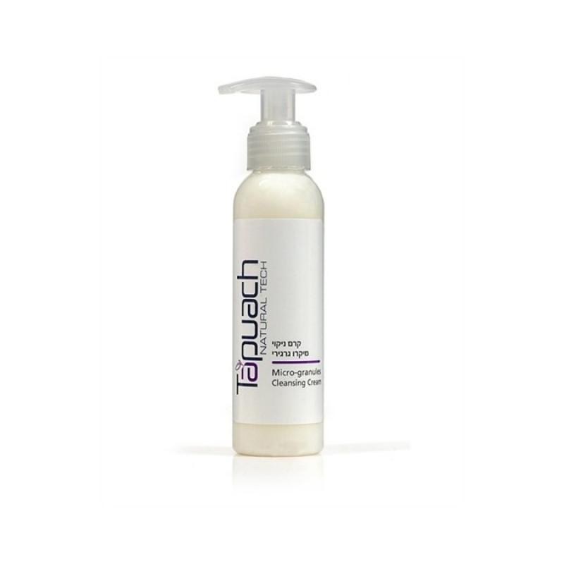 Очищающий крем для нормальной и сухой кожи с микрогранулами 125 мл, 400 мл / Tapuach Initial Cleaning Micro-Granules Cleansing Cream 125 ml, 400 ml