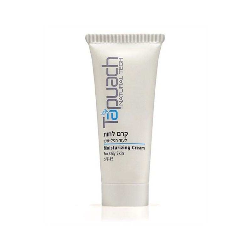 Увлажняющий крем для нормальной и жирной кожи СПФ-15, 70 мл, 250 мл / Tapuach Moisturizing Cream (For Normal to Oily Skin) SPF 15, 70 ml, 250 ml