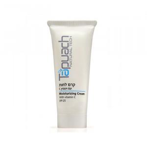 Увлажняющий крем для лица с Витамином С для нормальной и комбинированной кожи с защитным фактором SPF-25, 70 мл, 250 мл / Tapuach Moisturizing Cream With Vitamin C SPF 25 70 ml, 250 ml