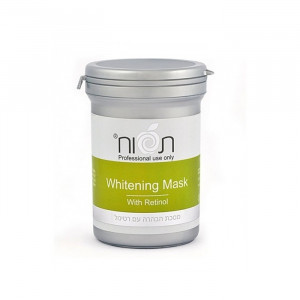 Осветляющая маска (арбутин, койевая кислота, ретиноевая кислота) 250 мл / Tapuach Whitening Mask With Rethinol 250 ml